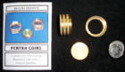 Pentra Coins  Brass Locking Version